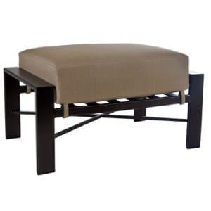 Gios Outdoor Ottoman, Furniture - Metal