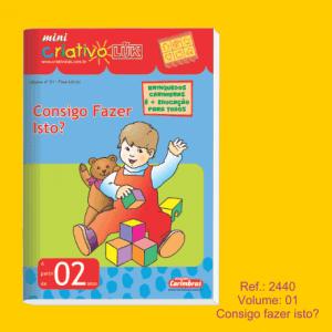 Mini Criativo Lük (Bambino Lük) livro volume 01