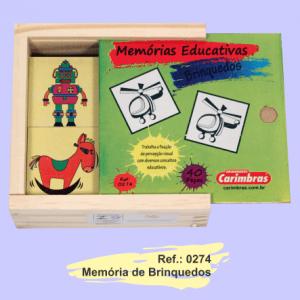 memoria brinquedos carimbras