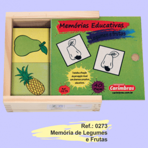 memoria legumes e frutas