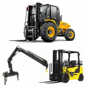 Forklifts and Cranes