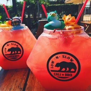 Cali Fish Bowl Margaritas