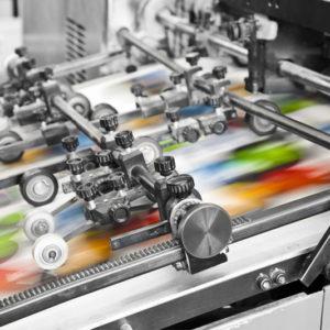 Офсетная печать в типографии Капитал Принт