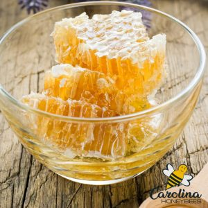 How you can eat raw honeycomb