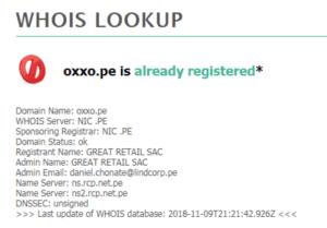 Batalla por los dominios entre Tambo+ vs Oxxo 2