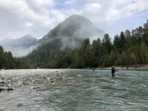 Vancouver fly fishing report September