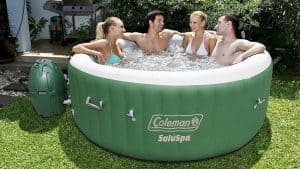 Inflatable Jacuzzi Hot Tub