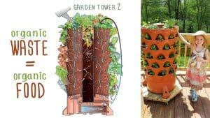 Garden Tower 2 - 50 Plants Vertical Container Garden