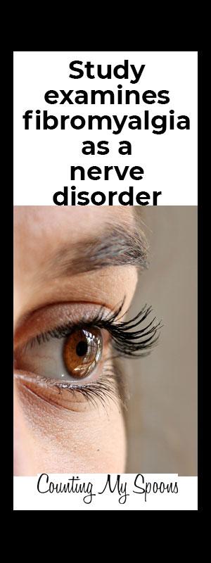 Study examines fibromyalgia as a nerve disorder