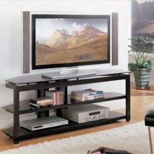 black entertainment console