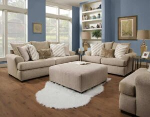 Albany Intermix Khaki Sofa Set
