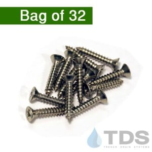 NDS529H Stainless screws mini channel