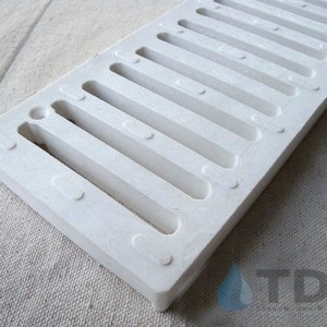 NDS240-white-slotted-grate Spee-D channel