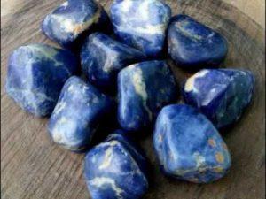 usos de la sodalita azul