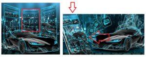 """Тема """"Neon Sports Car Theme"""""""