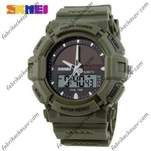 Часы Skmei 1050 Зеленые
