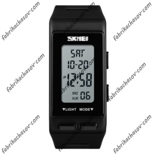 Часы Skmei 1362 черные спортивные