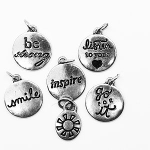 Positive vibes charm