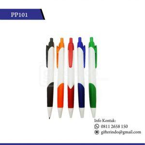 PP101 Pulpen Promosi Plastik