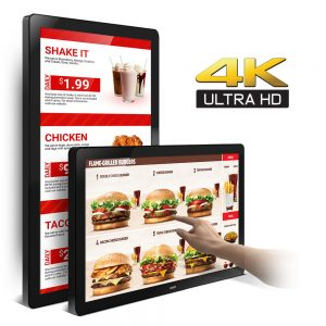 32-Inch 4K UHD PCAP Touch Display Monitor