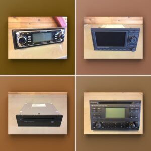 Car stereo equipment and parts