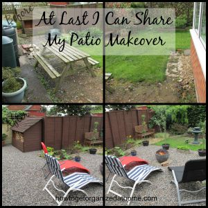 At Last I Can Share My Patio Makeover