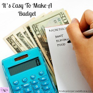 A budget that is made easy for you to understand and to practice!