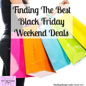 Don't get lost in the sea of deals this Black Friday weekend, let me help you find what you are looking for!