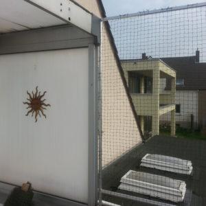 Katzennetz Profi vernetzt Balkon