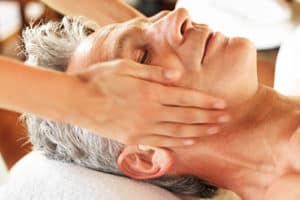 Men's skin care facial