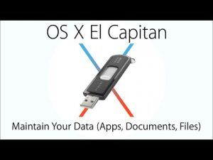 Install Mac OS X El Capitan Create Bootable Flash Drive