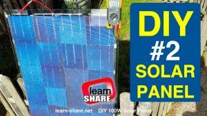 How to Make Homemade Solar Panels Part2