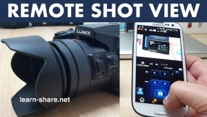Panasonic Image App Setup Remote Shoot View
