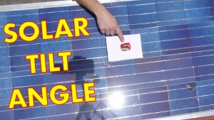 Best Tilt Angle for Solar Panels