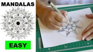 How to Draw Mandalas for Beginners Paradox Effect