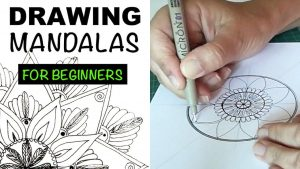 How to Draw 2 EASY Mandalas for Beginners