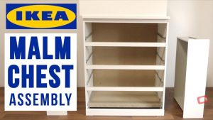 IKEA MALM 4 Chest of Drawers Assembly