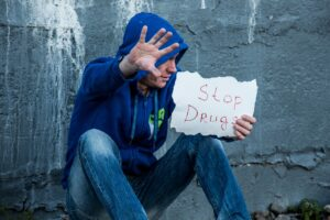 stop drugs sign