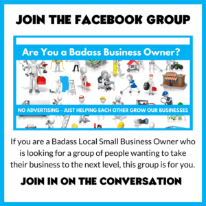 join the badass local small business owner facebook group