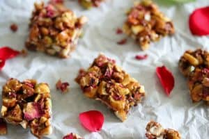 Rose Dry Fruit Chikki / Dry Fruit Brittles