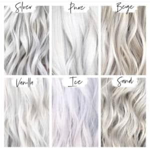Platinum Blonde Hair Colors