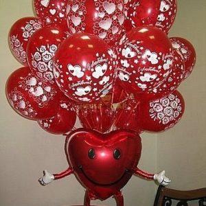 Валентинка ходячая к 14 февраля