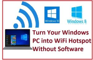 How to Create a Hotspot in Windows 10 without Software