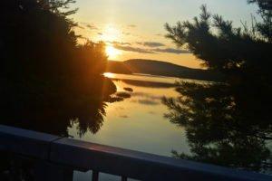 la mauricie national park lake