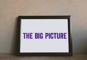 The Big picture—What You See Is What You Get
