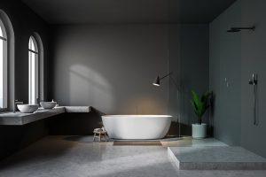 Betonlook badkamer betonlook toilet inspiratie my industrial
