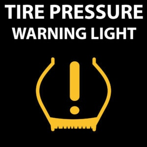 how to reset your low tire pressure light