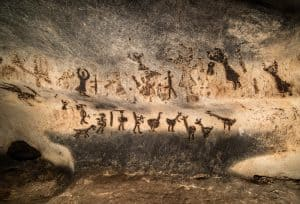 Cave Wall Paintings Early Animation