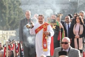 Procession in Holy Land - Christmas