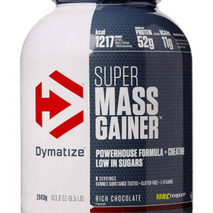dymatize super mass gainer 6 lbs